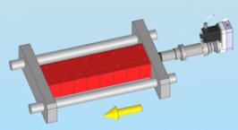 二次電池スタック圧縮特性検査