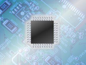 マイクロプロセッサのイメージ