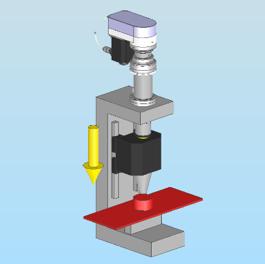 ACサーボプレス_超音波溶着機のイメージ