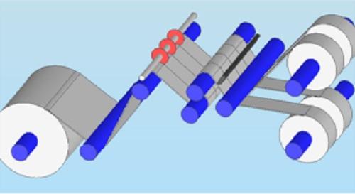スリッターの例_二次電池寸法検査システム_接写型ラインカメラ