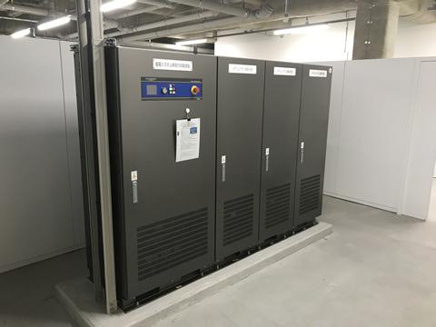 画像:蓄電池システム