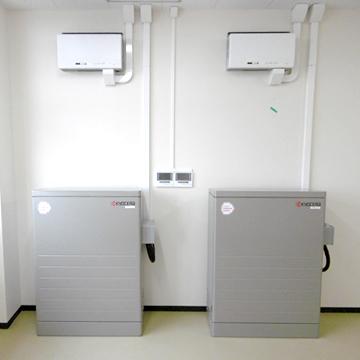 製品写真:蓄電システム