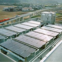 製品写真:ソーラーシステム(給湯・暖房)