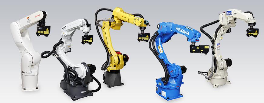 画像:5.国内主要ロボットメーカーに対応